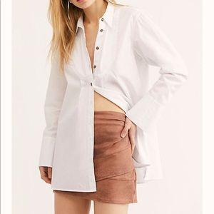 Linen Layered Skirt